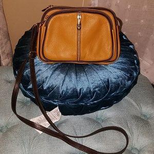 Genuine Leather Valentina Crossbody